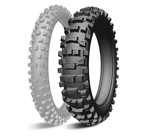 タイヤ, オフロード用タイヤ MICHELIN AC10 110100-18 MC 64R TT CRF250RX 19 150XC-W 17 DR-Z400SM RM-Z250 03 YZ250FX YZ250X 16-18