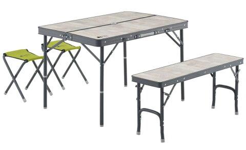 LOGOS ロゴス ROSY ファミリーベンチテーブルセット