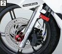 SCUBER スキューバー スクーター外装 クロームフロントフォークカバー PCX125