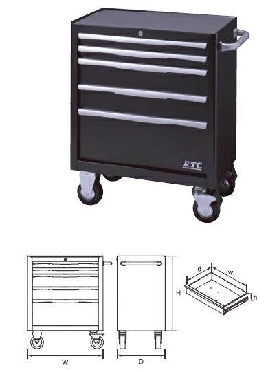 工具収納, 工具箱 KTC 55