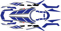 【MDF】【エムディーエフ】【】【ステッカー・デカール】【車種別グラフィックデカールキットMT09ストロボ】【タイプ:コンプリート(フルセット)】【MT-09】