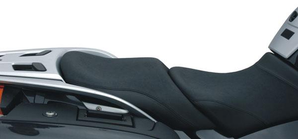 K&H ケイアンドエイチ シート本体 ソロシート プレーン カラー:イエロー カラー:ブルー ソフテイル系 -99