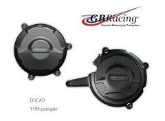 [送料無料][エンジンカバー][GBRacing ジービーレーシング][EC-1199-2012-SET-GBR][Panigale [...