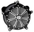 RSD Roland Sands Design ローランドサンズ エアクリーナー・エアエレメント エアクリーナー Venturi Speed 7 仕上り:コントラストカット