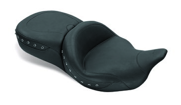 MUSTANG マスタング スーパーツーリング ワンピースシート レシーバー付き (Super Touring One-Piece Seat with Receiver)【SEAT SUPER TR BLK STD】