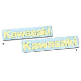【在庫あり】【イベント開催中!】 KAWASAKI ステッカー・デカール カワサキ夜光ステッカー サイズ:L(175×26mm)