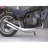 RZ250RZ350チャンバーミズノモーター【ゼス】RZ250/350用オリジナルチャンバータイプ:メッキタイプ