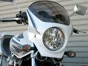 CHIC DESIGN シックデザイン ビキニカウル・バイザー ロードコメット2 カラー:スモーク カラー:フォースシルバーメタリック CB1300SF