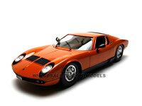 ダイキャストミニカー:(1/18):1968ランボルギーニーミウラ