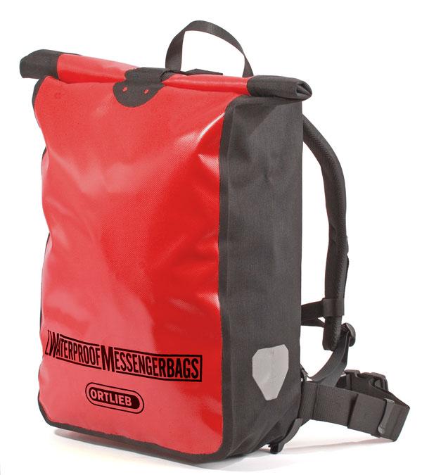 ORTLIEB オルトリーブ リュックサック・ナップザック MESSENGER BAG (メッセンジャーバッグ) バックパック カラー:レッド