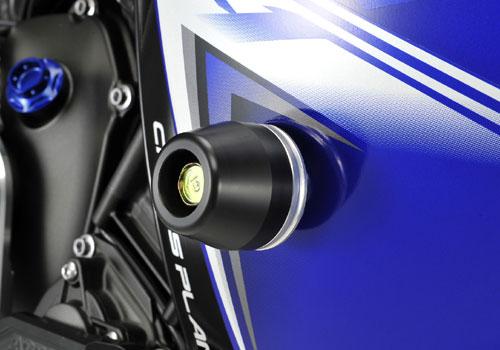 AGRAS アグラス ガード・スライダー レーシングスライダー ジュラコンカラー:ブラック (ロゴ有) Y...