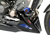 ODAX オダックス Belly Pan アンダーカウル カラー:マットブラック/シルバーメッシュ MT-09 TRACER