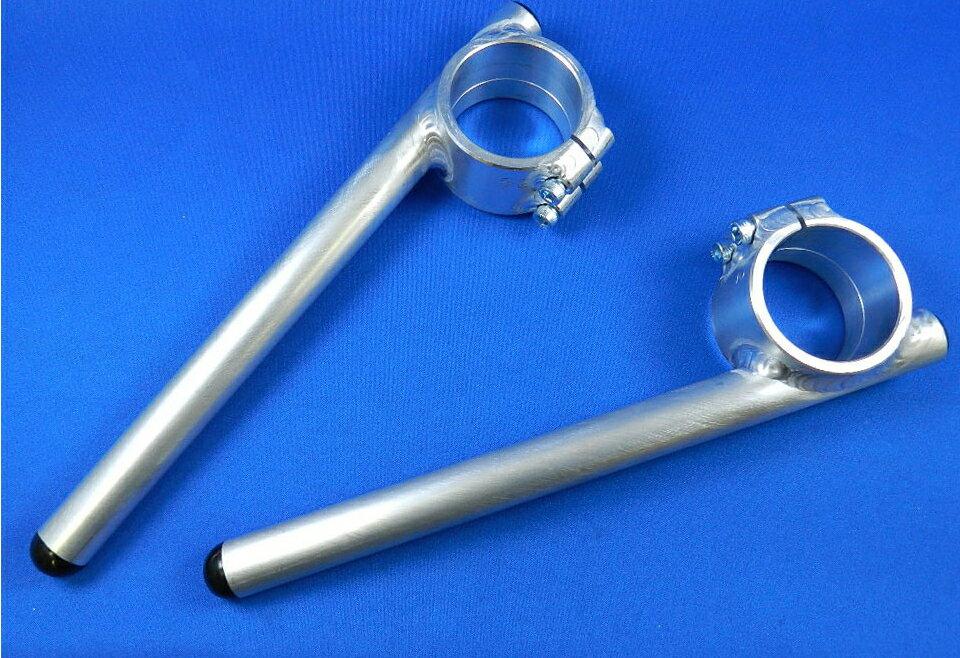 バトルファクトリー BATTLE FACTORY ハンドルバー アルミ溶接ハンドル φ52 垂れ角:8度 RS250 TZ250 ZX-7R