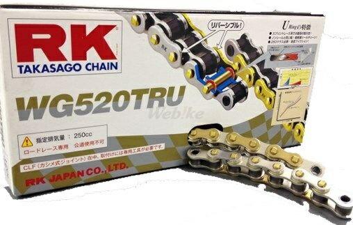 駆動系パーツ, ドライブチェーン RK WG WG520TRU RS125 () RS125 () CBR250R (2011-) NSR250R NSR250R RS250 RS250 RS250 250 250R RGV250 () YZF-R25