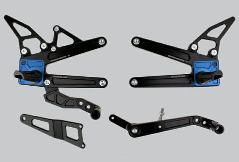 【クーポン配布中】DRIVEN ドリブン D-Axis TTバックステップ カラー:ブルー YZF-R1