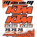 【MOTOINKZ】【モトインクズ】【ステッカー・デカール】【ユニバーサル KTM ステッカーシート(Universal KTM Sticker Sheet)】