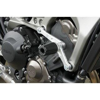 OVER オーヴァー ガード・スライダー エンジンスライダー シルバーアルマイト MT-09 14-17 MT-09 1...
