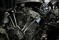 部品屋K&WエンジンカバーSUエアクリーナー&ダミープッシュロッドカバーセットビラーゴ250(XV250)