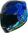 ICON アイコン フルフェイスヘルメット AIRMADA THRILLER HELMET エアマーダ・スリラー・ヘルメット 【BLUE】 サイズ:2X(63-64cm)
