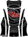 MOTOGRAFIX モトグラフィックス タンクパッド カラー:ブラック/レッド/メタリックシルバー R1200RS