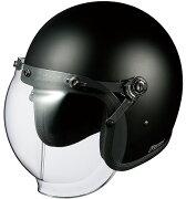 オージーケーカブト ジェット ヘルメット フラット ブラック