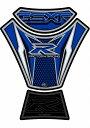 MOTOGRAFIX モトグラフィックス タンクパッド カラー:ブルー GSX-R600/750/1000