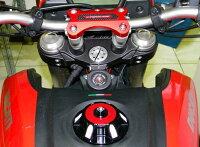 【セール特価!】DUCABIKEドゥカバイクハンドルポストハンドルクランプHYPERMOTARDノーマル/STRADA