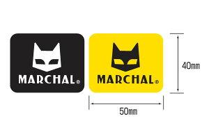MARCHAL マーシャル ステッカー・デカール ステッカー サイズ:中サイズ(幅50mm×高さ40mm)