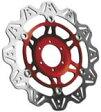 EBC イービーシー ディスクローター V ローター ストリートバイク用ブレーキディスク (VEE ROTORS FOR STREET BIKES) カラー:レッド FZ1 06-14 Stryker 11-14