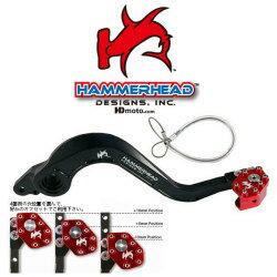 HammerHead ハマーヘッド ブレーキペダル・シフトペダル リアブレーキペダル ローテーティングティップ カラー:オレンジ CRF150R