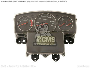 CMS シーエムエス METER ASSY,COMB GL1800 GOLDWING (6) AUSTRALIA / GH GL1800 GOLDWING (6) BRAZIL GL1800 GOLDWING (6) EUROPEAN DIRECT SALES / GH GL1800 GOLDWING (6) EUROPEAN DIRECT SALES GL1800 GOLDWING (6) FRANCE / CMF GH GL1800 GOLDWING (6) IRELAND / GH