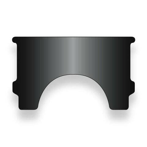 National Cycle ナショナルサイクル スクリーン Heavy Duty(TM) 補修ウインドシールド ブラック (Heavy Duty (TM) Replacement Window Black)
