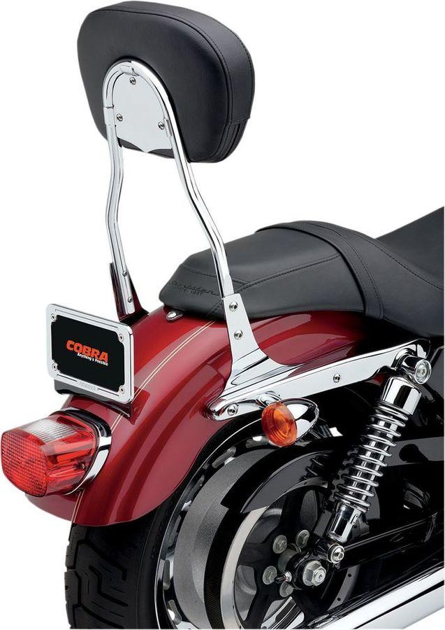 外装パーツ, バックレスト COBRA HARLEY-DAVIDSONRound Sissy Bars for Harley-Davidson