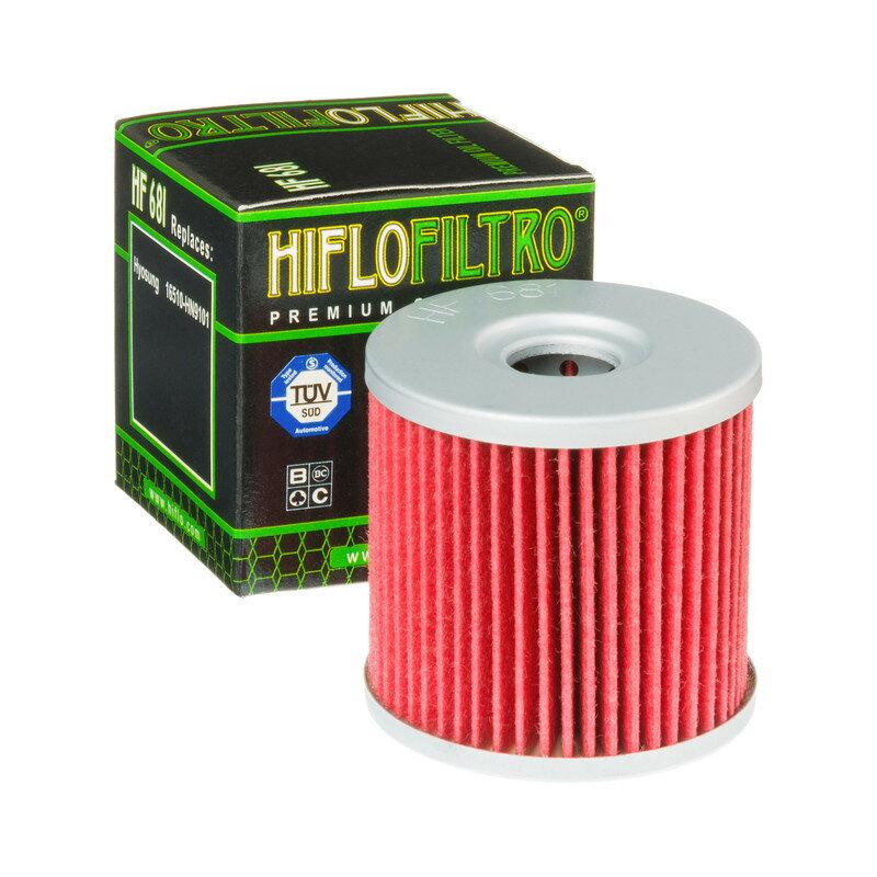 HIFLOFILTRO ハイフローフィルトロ HIFLOFILTRO オイルフィルター 681 HYOSUNG 【Oil Filter HF 681 Hyosung】【ヨーロッパ直輸入品】 GT650 COMET (650) 05-08 GT650RS (650) 05-08 GV650 (650) 05-08画像