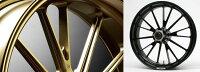 GALESPEEDゲイルスピードホイール本体アルミニウム鍛造ホイール【TYPE-S】ガラスコーティングカラー:ゴールドGSX-S1000'15-'16GSX-S1000F'15-'16