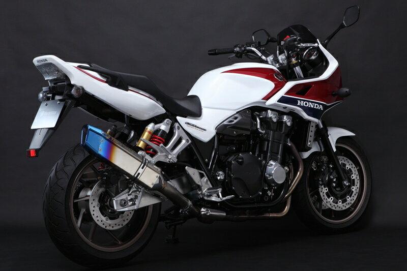 TRICK STAR トリックスター スリップオンマフラー CB1300スーパーボルドール CB1300スーパーフォア画像