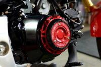 SSKエスエスケーエンジンカバーRIDEAエンジンプロテクターカラー:レッドGROM/グロム13-16、MSX12513-16、MSX125SF16-