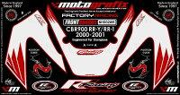 MOTOGRAFIXモトグラフィックスステッカー・デカールボディーパッドCBR900FIREBLADERR-YRR-1(99-01)
