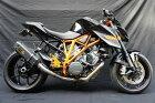 月木レーシングツキギレーシングスリップオンマフラーTRエキゾーストシステムスリップオンカーボンヘキサゴンサイレンサー1290SUPERDUKER/SE