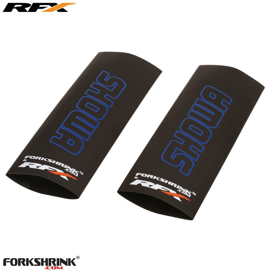 RaceFX レースエフエックス その他フロントフォーク関係 RFX Race Series Forkshrink Upper Fork Guard with Showa logo カラー:White