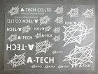 エーテックAテックステッカー・デカールA-TECHロゴステッカーセット