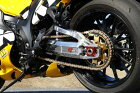 ストライカーG-STRIKERスイングアームパワーディメンションType-Sチェーン引きコマカラー:ブラックアルマイト表面仕上げ:バフGSX1300R隼08年-モデル