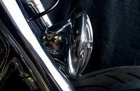 部品屋K&Wヘッドライト本体・ライトリム/ケースSuicideCustoms製イーグルヘッドライト