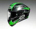 SHOEIショウエイフルフェイスヘルメットX-14LAVERTY(エックスフォーティーンX-FOURTEENラバティー)ヘルメットサイズ:XS(53-54cm)