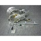 GM-MOTOジーエムモトモンキー用10インチ7.0Jホイール付ワイドスイングアームコンプリートキットスイングアームタイプ:スタビ無+12cmリヤマスターシリンダーブラケット:無モンキー