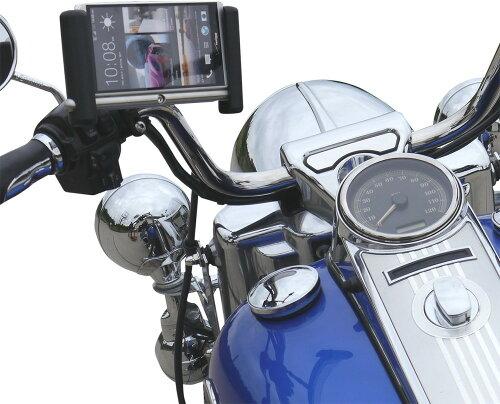 リーダーモーターサイクルアクセサリーズ 各種電子機器マウント・オプション ハンドルバークランプ...