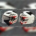 ThaiYamahaOEMAccessoriesタイヤマハ純正アクセサリージェットヘルメットVERAヘルメットカラー:WhiteEXCITER150-2017