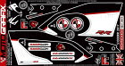 MOTOGRAFIXモトグラフィックスステッカー・デカールボディーパッドカラー:ホワイト/ブラック/レッドS1000RR17-