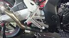 K&Tケイアンドティーバックステップレーシングステップキットカラー:シルバーアルマイトCBR250RR(MC51)