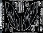 MOTOGRAFIXモトグラフィックスステッカー・デカールボディパッドカラー:KNEEBLACKS1000R(17-)
